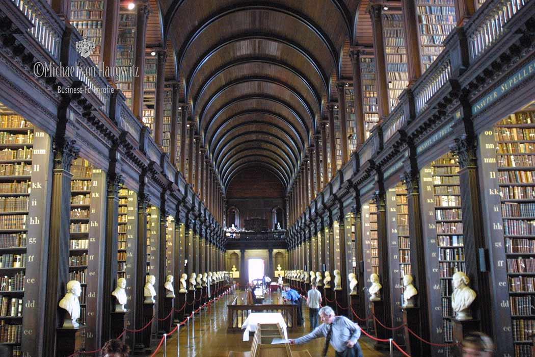Bibliothek des Trinity College |Dublin Irland