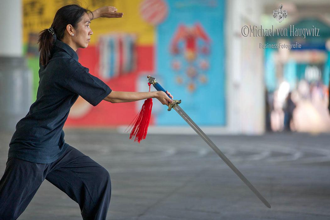 Tai-Chi mit Schwert | Hongkong