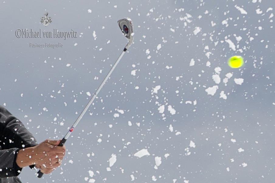Golf im Winter | Glacier3000 Montreux