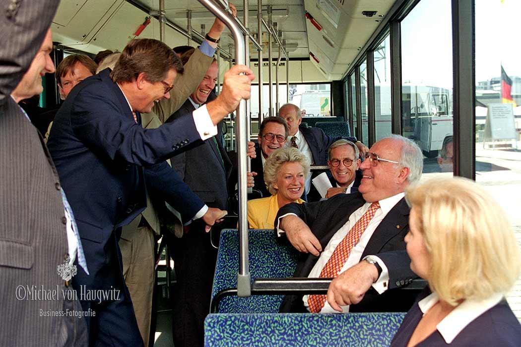 Bundeskanzler Dr. Helmut Kohl | IAA Frankfurt