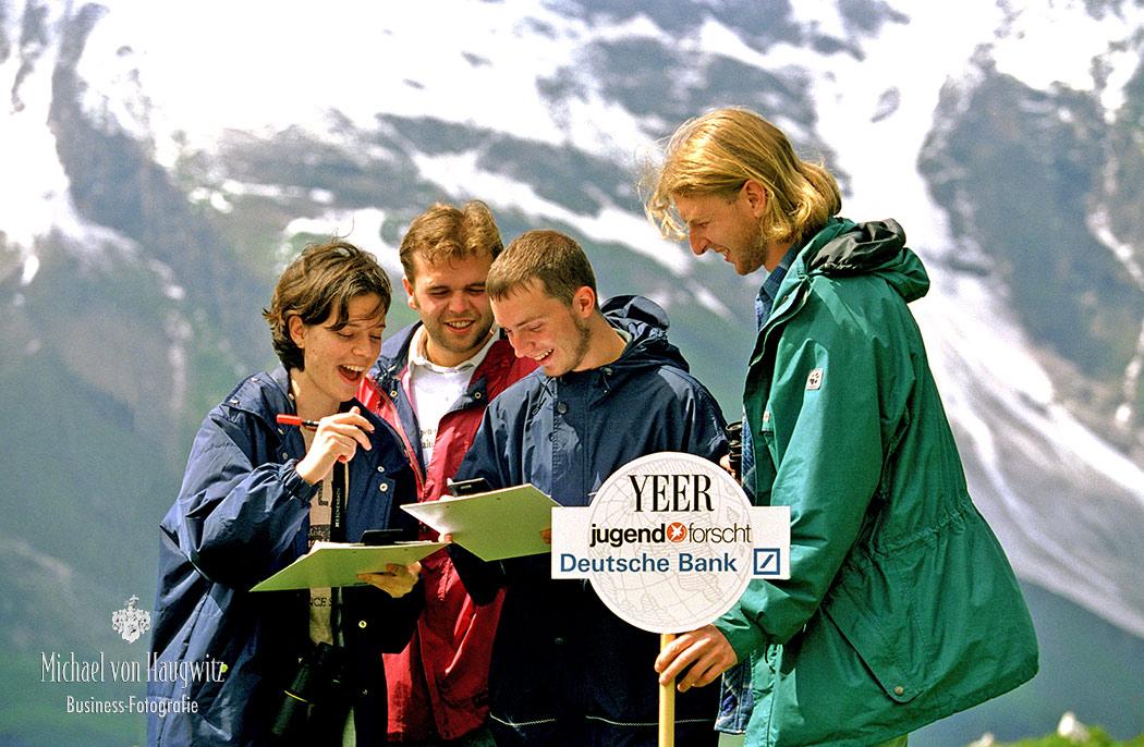 Jugend Forscht für die Umwelt Deutsche Bank | Nationalpark Hohen Tauern