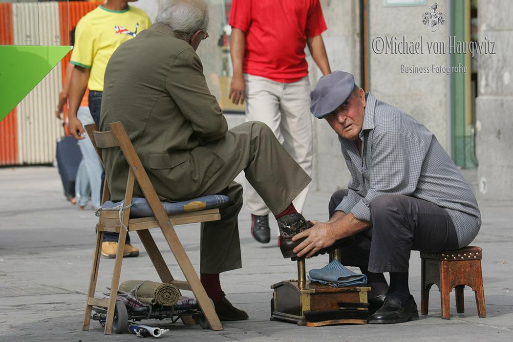 Schuhputzer   Madrid
