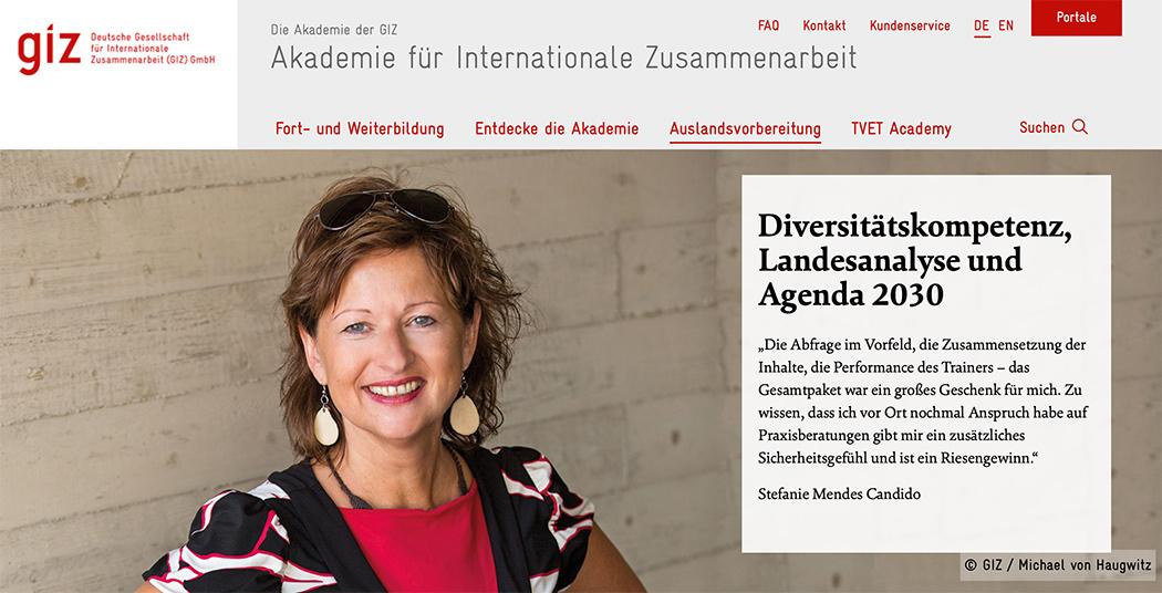 Akademie für Internationale Zusammenarbeit   Bonn-Röttgen