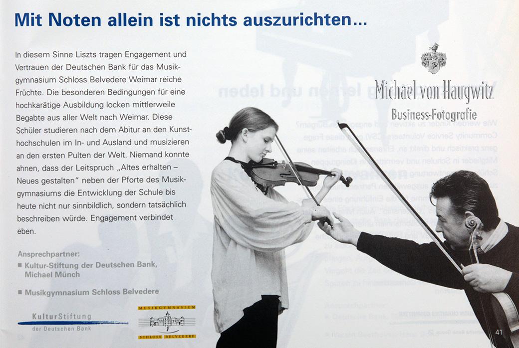 Kultur-Stiftung | Deutsche Bank